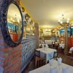 Interior restaurante Pensión Veracruz